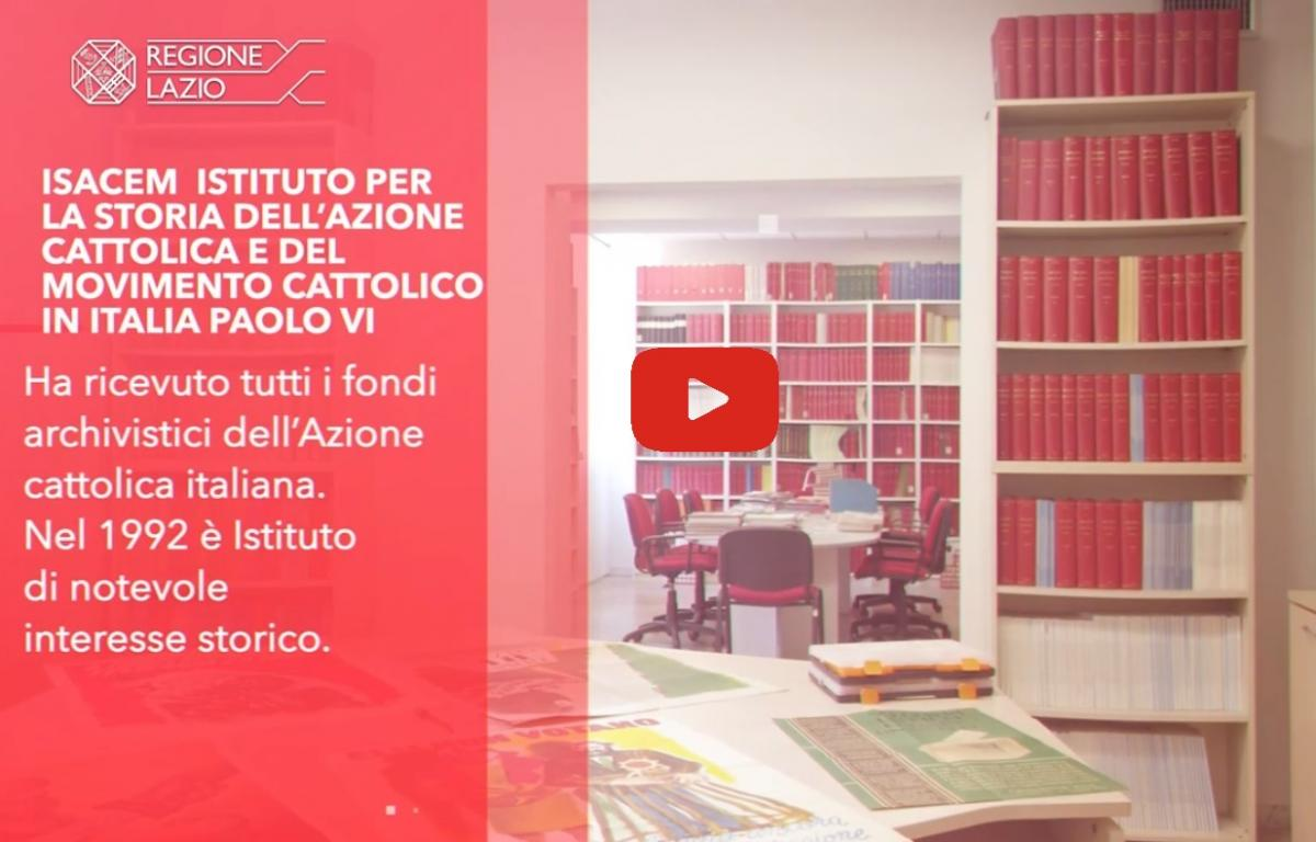 Conosci l'Istituto, vai al video su Youtube